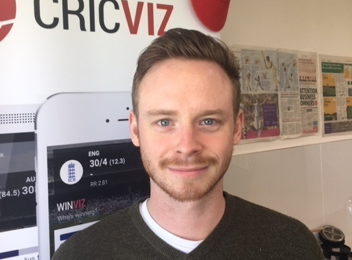 Cricviz Sales Executive Charlie Hawley